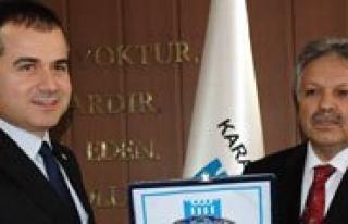 Gençlik ve Spor Bakani Suat Kiliç: `Karaman'a...