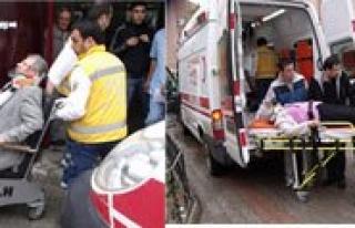 Trafik Kazasinda 4 Kisi Yaralandi