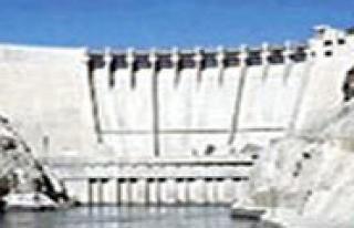 Ermenek HES Baraji Kapaklari Açiliyor
