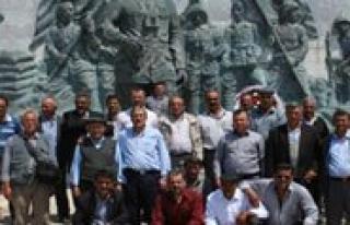 THK Karaman Subesi Muhtarlara Çanakkale Gezisi Düzenledi