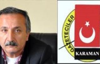 Karaman Gazeteciler Cemiyeti'nden Basin Özendirme...