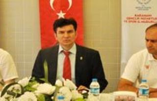 """Gençlik Hizmetleri Ve Spor Il Müdürü Aydogdu:""""Kaynaklarimizi..."""
