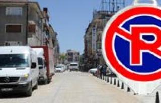 Ismetpasa Caddesi'nde Park Etmek Yasak
