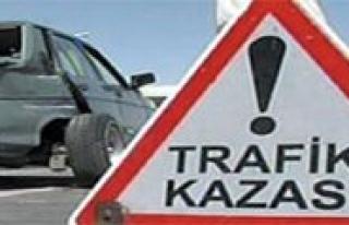 Trafik Kazasi: 2 Yarali