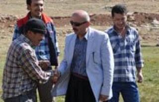 Belediye Baskani Samur'dan Yayla Ziyareti