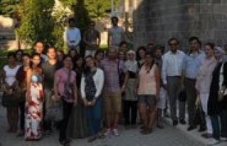 Almanyali Akademisyenler Karaman'i Gezdi