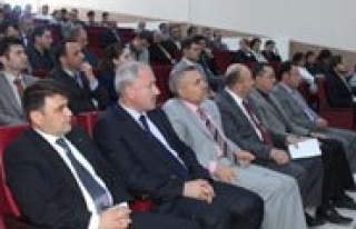 """KMÜ'de """"Sürdürülebilir Enerji Eylem Plani""""..."""