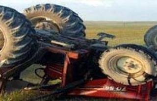 Traktör Kazasi: 1 Ölü