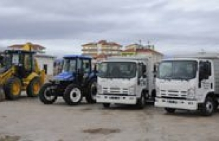 Karaman Belediyesi Araç Parkini Güçlendirdi