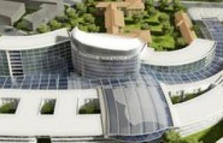 Konya`ya Semazen Figürlü Devlet Hastanesi