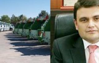 Karaman'a Yeni Temizlik Araçlari Geliyor