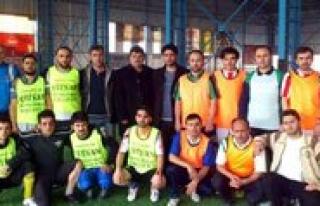 DIGES Karaman Subesi Ilçeler Arasi Hali Saha Futbol...