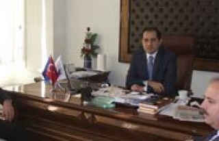 SGK Il Müdürü Akdere, Erat'i Ziyaret Etti