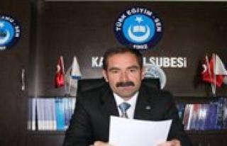 Türk Egitim-Sen'den Sube Müdürlügü Atamalari...