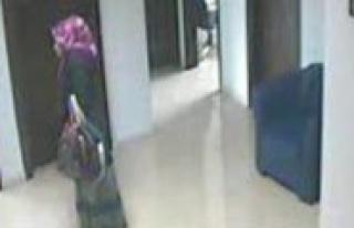 Güvenlik Kamerasina Yakalanan Hirsiz Tutuklandi