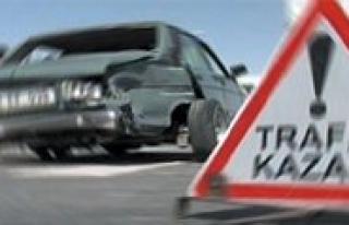 Karaman`da Trafik Kazasi: 1 Yarali