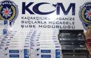 Karaman'da 2 Bin 410 Paket Kaçak Sigara Ele Geçirildi