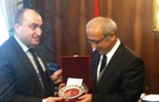 Acara Özerk Cumhuriyeti Hükümeti Baskani Habadze'den...