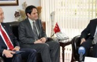 Makedonya Büyükelçisi Taskovski Ilimizdeydi