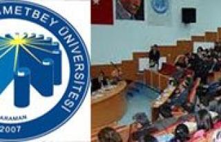 """KMÜ'de """"Yeni Anayasa Ve Baskanlik Sistemi""""..."""