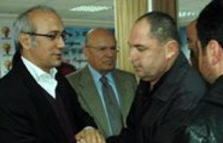 Milletvekili Elvan, Taziyeleri Kabul Etti