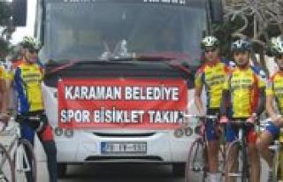 Belediye Spor Bisiklet Takimi Türkiye 3.'lügünü...