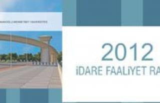 KMÜ'nün 2012 Yili Idare Faaliyet Raporu Yayinlandi