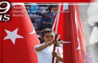 19 Mayis Atatürk'ü Anma Gençlik Ve Spor Bayrami...