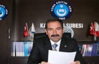 Türk Egitim-Sen Karaman Subesi Egitim Is Kolunda...