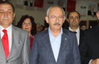 CHP Il Baskani Ertugrul Antalya'ya Gitti