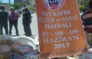 Mut Kayisi Festivaline Hazir