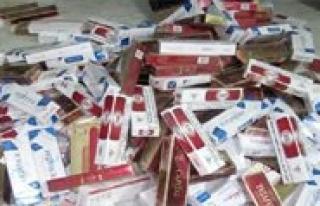600 Paket Kaçak Sigara Ele Geçirildi