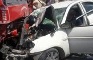 Kazalarda 6 Kisi Yaralandi