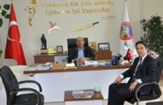 Kaymakam Öner'den Baskan Samur'a Ziyaret