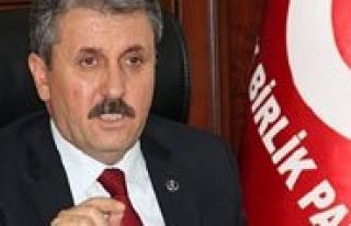 """BBP Genel Baskani Mustafa Destici: """"Kömür Ocaginda..."""