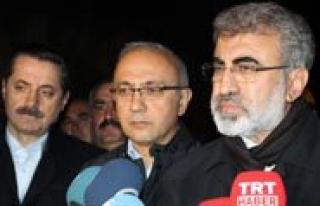 """Enerji Ve Tabii Kaynaklar Bakani Taner Yildiz: """"Su..."""