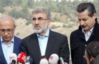 """Enerji Ve Tabii Kaynaklar Bakani Taner Yildiz: """"Karsimiza..."""