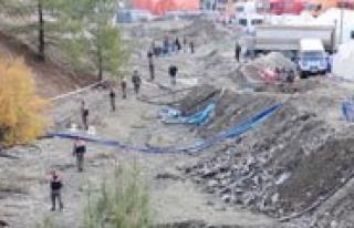 Maden Sahasinda Güvenlik Tedbirleri Artirildi