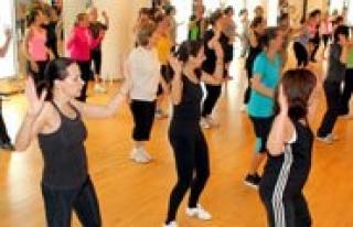 Hanimlar Lokali`nde Zumba Danslari Basliyor