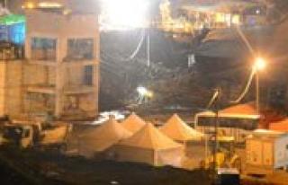 Ermenek`teki Maden Ocaginda Istinat Duvari Çöktü...