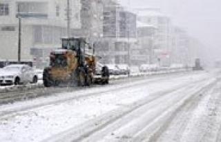 Daha Ilk Karla Birlikte Belediye Sinifta Kaldi