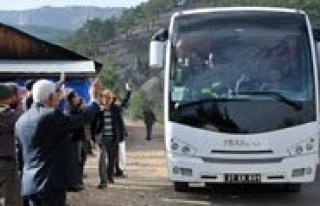 Kurtarma Ekipleri Ermenek'ten Ayrilmaya Basladi