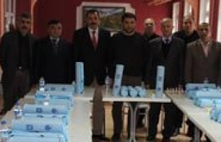 Karaman'da Mahkûmlara Satranç Takimi