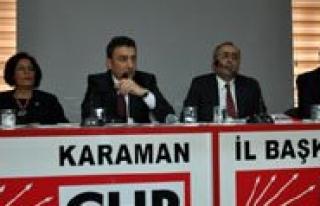 "CHP'li Akar, ""Terör'de Çözüm Degil Sorun..."