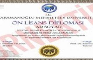 KMÜ'den Bir Ilk Daha: Elektronik Imzali Diploma...
