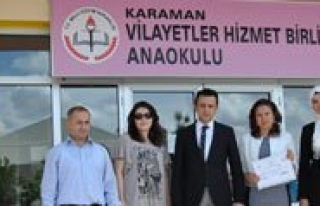 2015'in Ilk Beyaz Bayragini Vilayetler Hizmet Birligi...