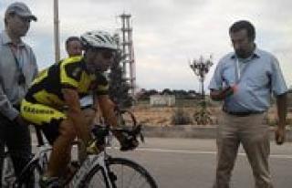 "Karaman'da ""Yol Bisikleti Türkiye Sampiyonasi""..."