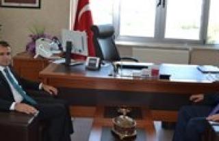 Sultanoglu Ve Bakan, SGK Il Müdürü Findik'i Ziyaret...