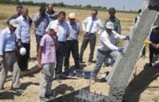 Ayranci'da KOP Destekli Ilk Ahirin Temeli Atildi