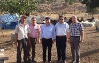 Il Müdürü Keskin, Pinarbasi Köyünü Ziyaret Etti